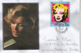 Marilyn Monroe Par Andy Warhol, Sur Lettre France - Schauspieler