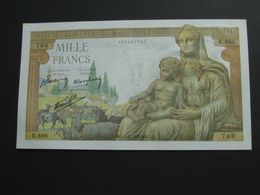 1000 Francs - Déesse Déméter 13-8-1942   **** EN ACHAT IMMEDIAT **** - 1871-1952 Anciens Francs Circulés Au XXème