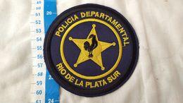 Argentine Police Rio De La Plata Sud Patch Ecusson #15 - Ecussons Tissu