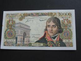 10 000 Francs - Bonaparte - 6-12-1956   **** EN ACHAT IMMEDIAT ****   Billet Très Recherché !!!! - 1871-1952 Gedurende De XXste In Omloop