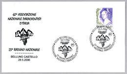 ASOCIACION NACIONAL PARACAIDISTA DE ITALIA. 23 Encuentro Nacional. Belluno Castello 2006 - Fallschirmspringen