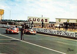 Sport Automobile Le Mans Les 24 Heures Du Mans Arrivée Des Vainqueurs CPM - Le Mans