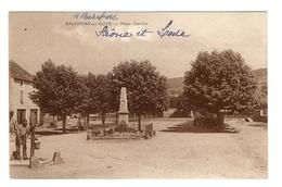 71 SAONE ET LOIRE - SALORNAY SUR GUYE Place Gandin - Autres Communes