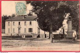 CPA 01 VILLARS LES DOMBES  Hôtel De Ville Et Monument Du Centenaire - Villars-les-Dombes