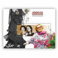 Portugal ** & Fado,100 Years Of Of Amália Birth 2020 (86229) - Blocks & Kleinbögen