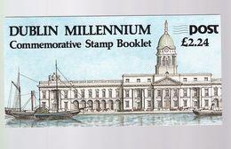 Un Carnet  Dublin Millennium  Commemorative Stamp Booklet - Libretti