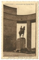 NIEUWPOORT  -  Gedenkteeken Aan Koning Albert - Nieuwpoort