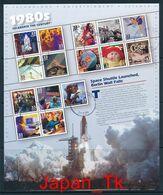 USA Mi. Nr. Block 50 Die Vereinigten Staaten Von Amerika Im 20. Jahrhundert - Die Jahre 1980-1989 -used - Blocks & Sheetlets