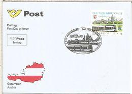 AUSTRIA FDC HIRTENBERG FERROCARRIL RAILWAY - Eisenbahnen