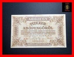 HUNGARY 10.000  10000 Adopengo  28.5.1946  P. 143  VF + - Hungary