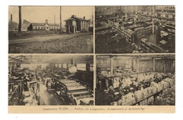 75 PARIS - 6ème, Imprimerie Plon, Ateliers De Composition... - Arrondissement: 06