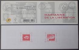 2513 - 2015 - MARIANNE DE LA LIBERATION - N°1522 TIMBRES  NEUF** - Cote (2020) : 50,00 € - Carnets