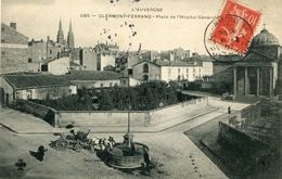 CLERMONT-FERRAND , Place De L'Hopital Général - Clermont Ferrand