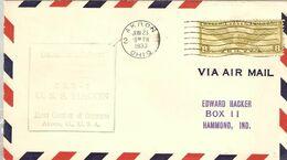 Enveloppe Marquant L'inauguration Du Vol Inaugural Du Zeppelin ZRS-5 Macon - 23 Juin 1923 - Zeppelins