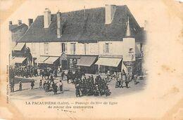 La Pacaudière           42           Passage Du 98 ème De Ligne        (voir Scan) - La Pacaudiere