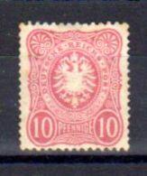 Reich 1875-77, Aigle, 32 * Sans Gomme, Cote 55 €, - Germany