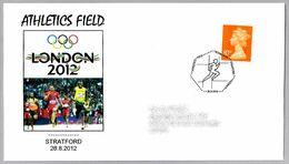 LONDON 2012 - ATLETISMO - ATHLETICS FIELD. Stratford 2012 - Summer 2012: London