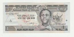 Ethiopia-ethiopië 1 Birr 2003 UNC - Etiopia