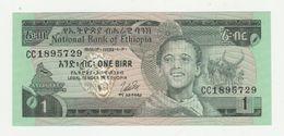 Ethiopia-ethiopië 1 Birr 1976 UNC - Etiopia