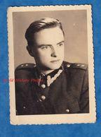 Photo Ancienne - Portrait Style Identité D'un Militaire Polonais ? Officier ? - 1930 ? 1940 ?- Uniforme WW2 ? Pologne - Guerra, Militares