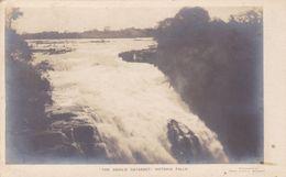 THE DEVIL'S CATARACT, VICTORIA FALLS. ZIMBABUE CPA. CIRCA 19140. NON CIRCULEE -LILHU - Zimbabwe