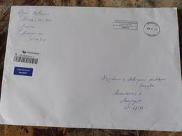 Lithuania Litauen Cover Sent From Jungenai To Marijampole 2020 - Lithuania