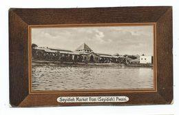 Africa Postcard Kenya Seyidieh Market From Pwani Ref Hms Pandora 1912 Unposted - Kenia