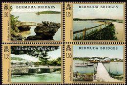 Bermuda - 2020 - Bermuda Bridges - Mint Stamp Set - Bermuda