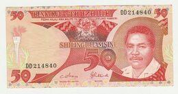 BENKI KUU Ya Tanzania 50 Shilingi Hamsini1992 - Tanzania