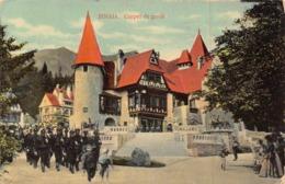 ROUMANIE - SINAIA - Corpul De Garda ( Militaires ) ( Stamps On The Reverside ) - Roumanie