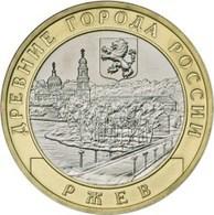 Russia, Rjev, 2016,10 Rbl Rubels Rubles Bi-metallic Uncirculated - Russie