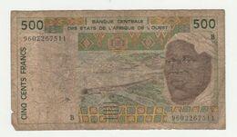 Banque Centrale Des Etats De L'Afrique De L'Ouest (senegal) 500 Francs - Senegal