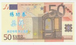 50 Euro *FAKE Banknote* 2002 UNC - EURO