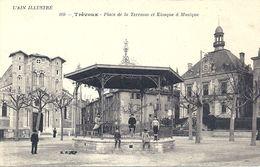 07 - 2020 - AIN - 01 - TREVOUX - Place De La Terrasse Et Kiosque à Musique - Trévoux