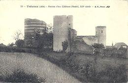 07 - 2020 - AIN - 01 - TREVOUX - Ruines D'un Château Féodal - Trévoux