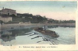 07 - 2020 - AIN - 01 - TREVOUX - Quai De Saone - La Parisien - Trévoux