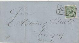 """Deutsches Reich / 1879 / Brief EF R3 """"CAMBURG"""" (CF93) - Covers & Documents"""