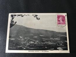 MONSOLS Vue Generale - 1935 Timbrée - France