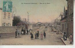 FLIXECOURT - Rue De La Gare    PRIX FIXE - Flixecourt