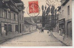 LYONS LA FORÊT - Pont Du Bas -  Le Pont Des Peupliers - Lyons-la-Forêt