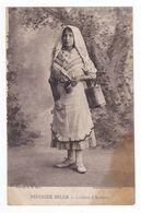 Belgique Femme Réfugiée Belge VOIR ZOOM Laitière D'Anvers En 1918 Editeur A.H Paris - Belgio