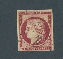 FRANCE - N° 6 OBLITERE LETTRES ROMAINES DS 2 - 1849 - 1849-1850 Ceres