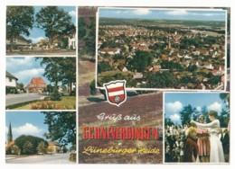 Schneverdingen In Der Lüneburger Heide - 5 Ansichten - 1970 - Schneverdingen