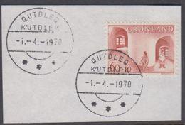 1968. Children Aid. 60+10 Øre QUTDLEQ -1.-4.-1970 (Michel 70) - JF364883 - Groenland