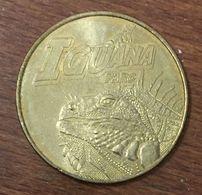 24 AQUARIUM DU PÉRIGORD NOIR IGUANA PARC MEDAILLE TOURISTIQUE MONNAIE DE PARIS 2010 JETON MEDALS COINS TOKENS - Monnaie De Paris