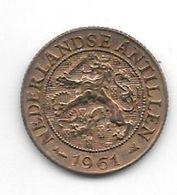 *netherlands Antilles 1 Cent 1961  Km 1  Unc /ms63 - Antillen (Niederländische)