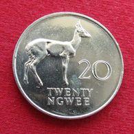Zambia 20 Ngwee 1988 KM# 13 *V2 Zambie - Zambia