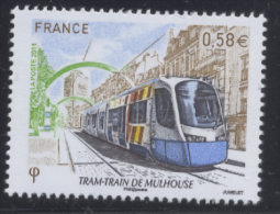 N° 4530 Tram-train De Mulhouse Faciale 0,58 € - Ongebruikt
