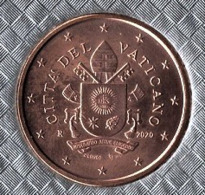 ** 5 Cent 2020 VATICAN PIECE NEUVE ** - Vaticano (Ciudad Del)