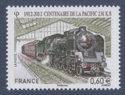 N° 4655 Centenaire De La Pacific Faciale 0,60 € - Ongebruikt
